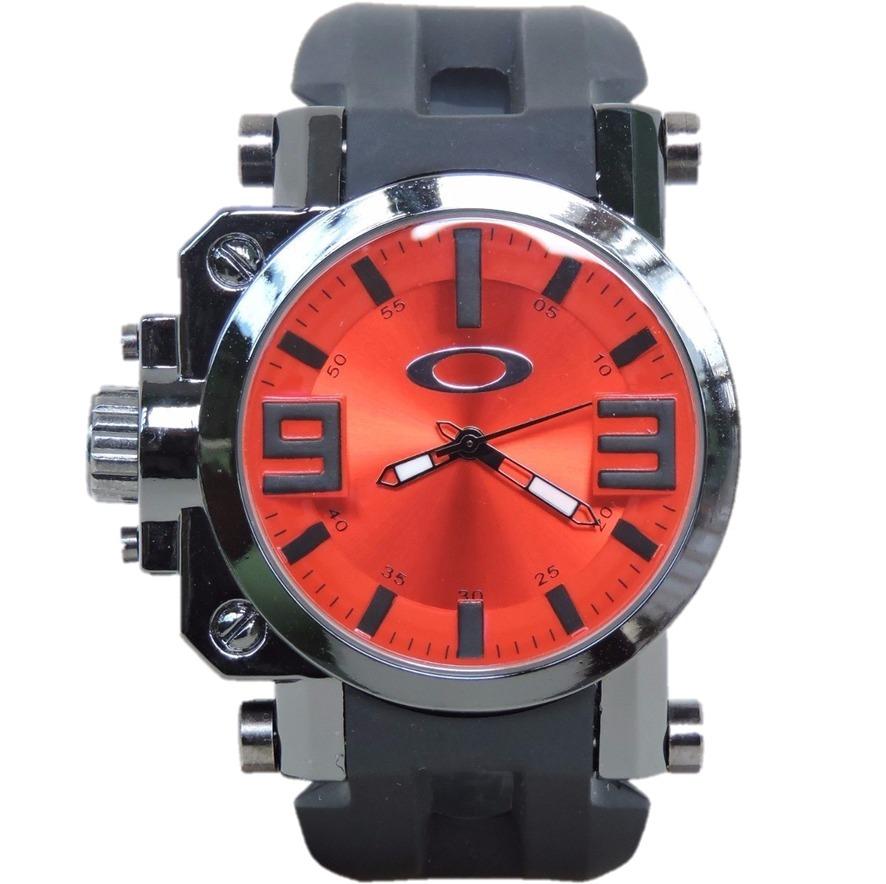 Super Oferta! Relógio Oakley Gearbox - Vermelho - R  43,00 em ... 7538914854