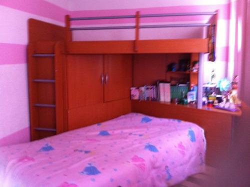 super oportunidad unica litera 3 camas, comoda, escritorio