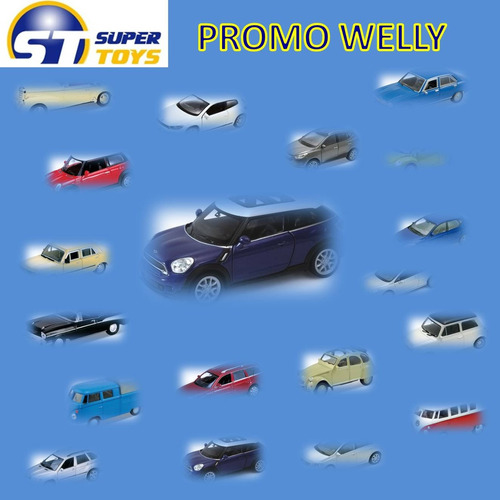 super pack coleccion welly 4 modelos a eleccion escala 1:32