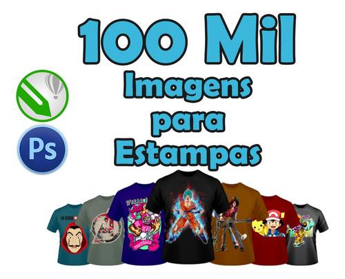 super pack com 100 mil imagens para estampas + bônus