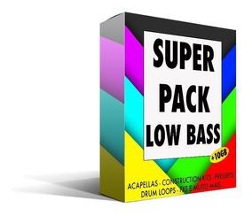 Super Pack De Samples Low Bass (wav, Mid) (+10gb) Promocao