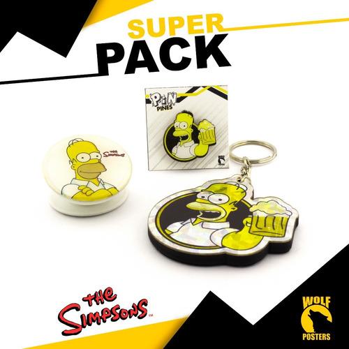 super pack de the simpsons homero 001