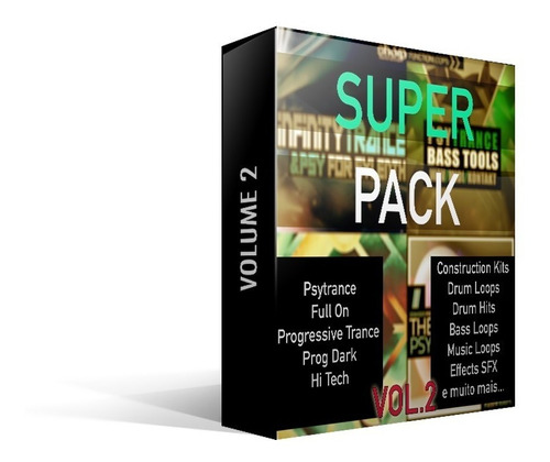 super pack psytrance, progressive trance vol.2 (+30gb)