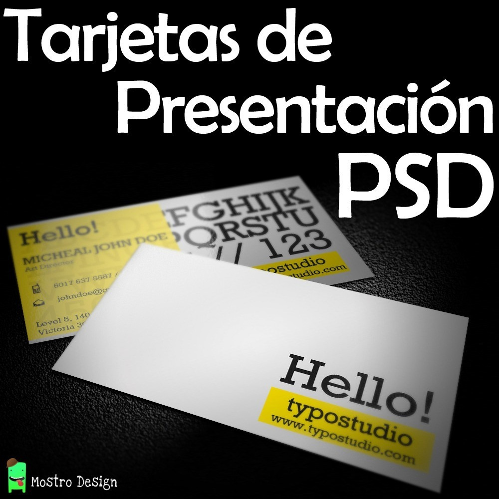 Super Paquete Plantillas Psd Tarjetas De Presentación Diseño ...