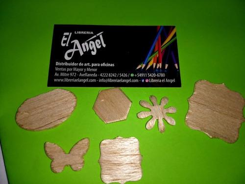 super perforadora formas 38mm madera imán corcho cartón pvc