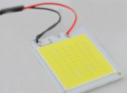 super placa led cob 9w equivale a 152 leds! + forte do mundo