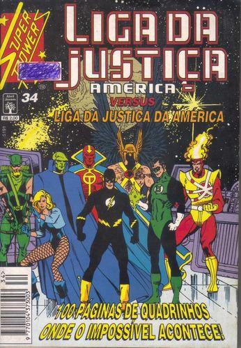 super powers nº 34 liga da justiça da américa - perfeita