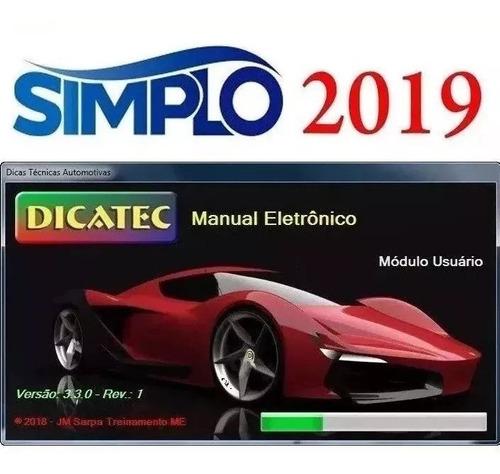 super promo simplo 2019 + dicatec 3.3.0