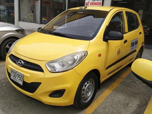 ¡super promoción! taxi hyundai i10 2013 bogota