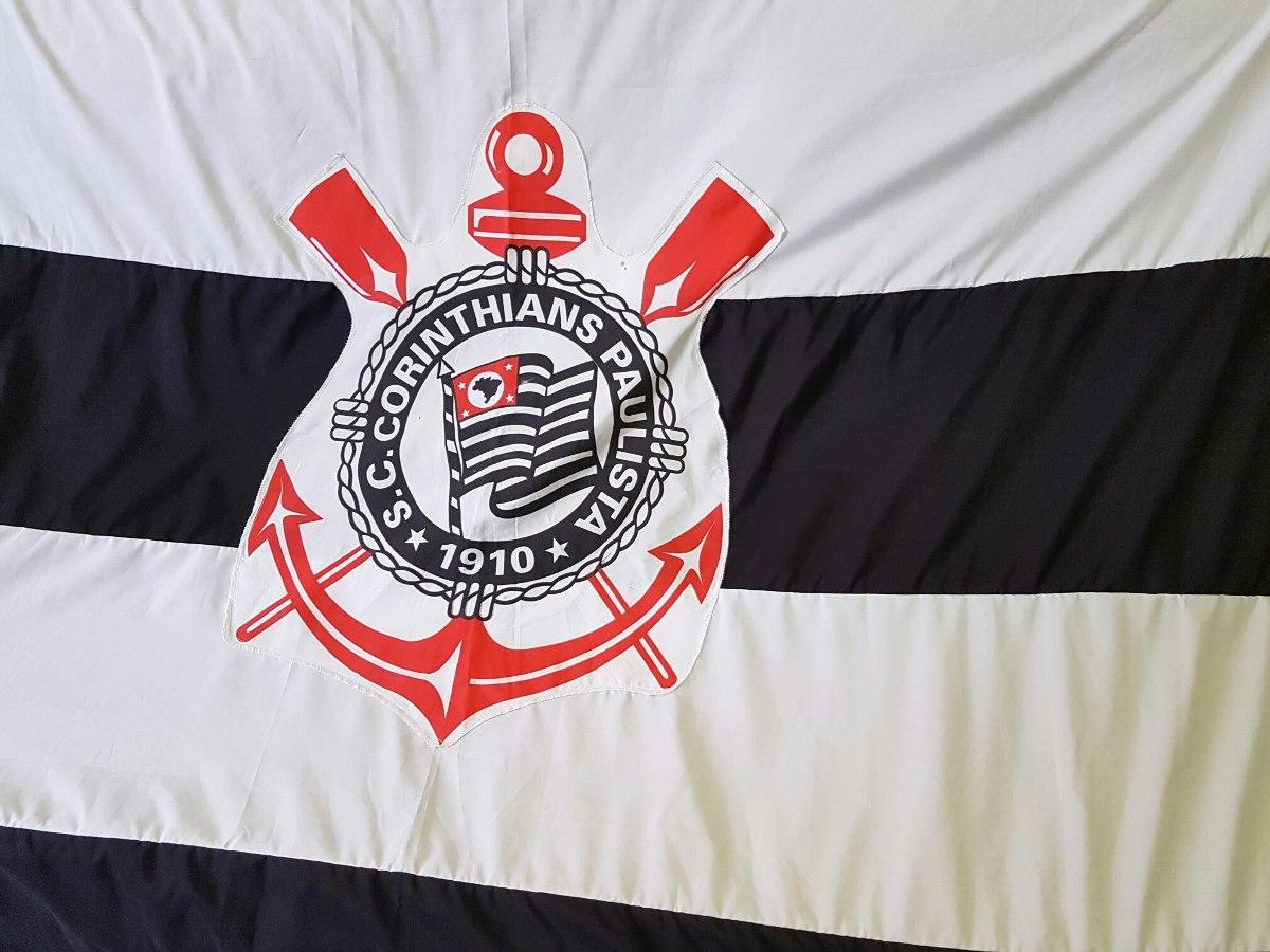 fed3728e45 Super Promoção 1 Bandeira Corinthians Timao Pronta Entrega - R  120 ...