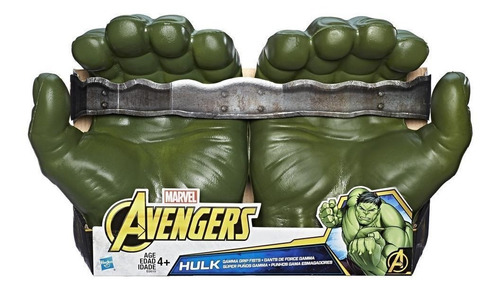 super puños gamma hulk marvel (3804)