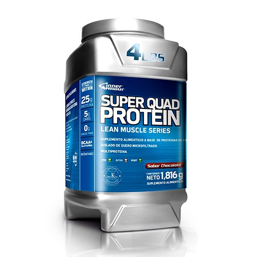 super quad proteina 1816 gramos chocolate nutrition systems