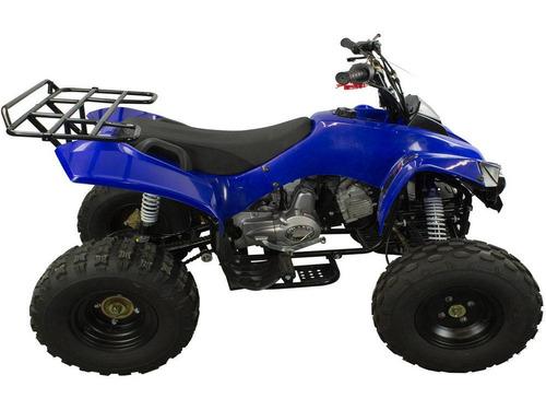 super quadriciclo atv 125cc 4t 0km f800 6x9 tork + dsr