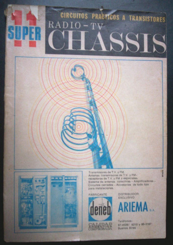 super radio chasis tv nº 11 año 1969