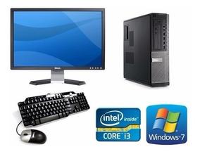 Computadora Core I3 Baratas 4gb Ram 500hdd Monitor Lcd 19'