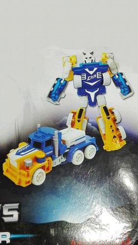 super robot power 99-12a transformers juguete niños camión