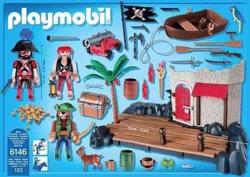 super set fuerte pirata playmobil r4637
