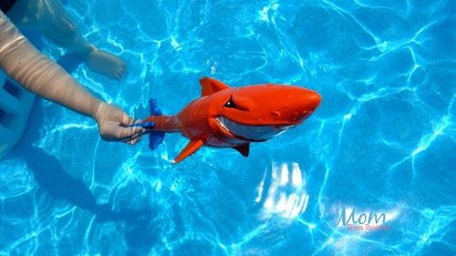 super sharkpedo juguete de agua/ tiburón
