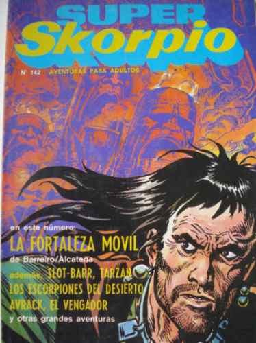 super skorpio n° 142.  ediciones record. 1987