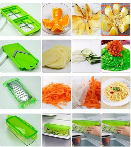 super slicer rallador cocina nicer cortador verdura dicer