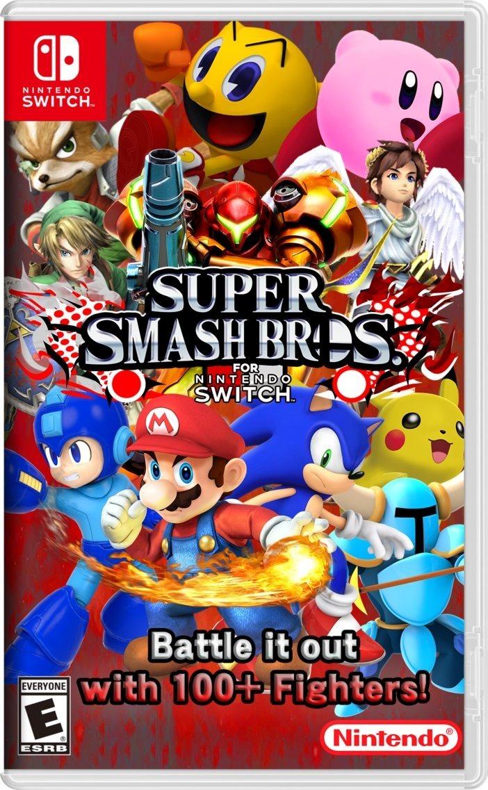 Super Smash Bros Codigo Nintendo Switch Bumsgames Bs 1 756 40