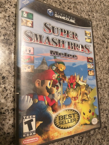 super smash bros melee game cube