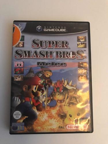 super smash bros melee para gamecube (original, semi novo)