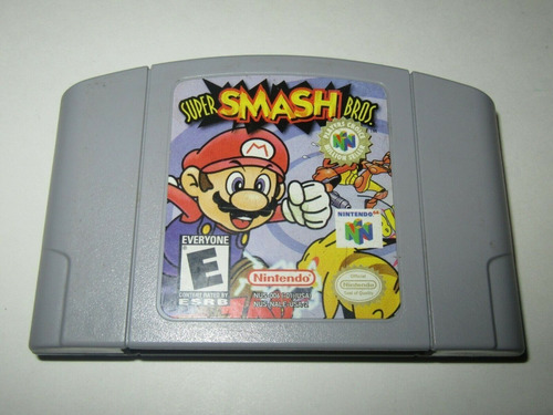 super smash bros. n64 juego nintendo 64 100% original