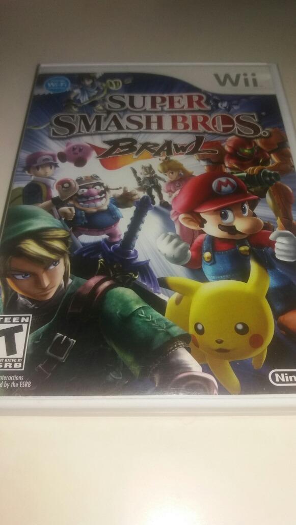 14eb54d465bcd Super Smash Bros Nintendo Wii