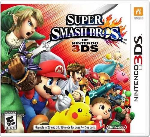 super smash bros -- nintendos-2ds 3ds -3dsxl - 2dsxl