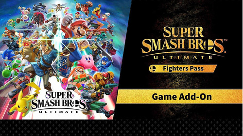 super smash bros ultimate + fighter pass switch [digital]