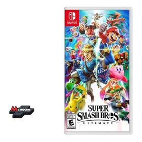 Super Smash Bros Ultimate/ Fisico Sellado Switch/ Mathogames