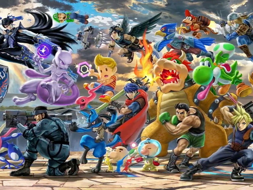 super smash bros ultimate nintendo switch nuevo domicilio