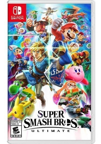 super smash bros. ultimate - nintendo switch - sellado