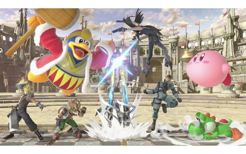 super smash bros ultimate switch pronta entrega mídia fìsica