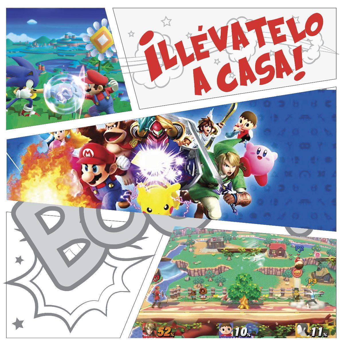 Super Smash Bros Wii Nq Np Juegos Nintendo