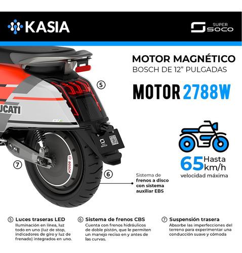 super soco ducati scooter electrico edicion especial