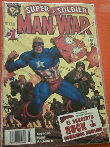 super soldier man of war (1997) # 1