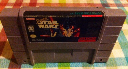super star wars   snes  $10.000.-