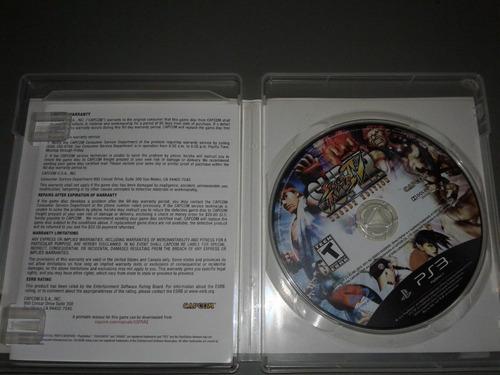 super street fighter 4 arcade edition -juego -ps3