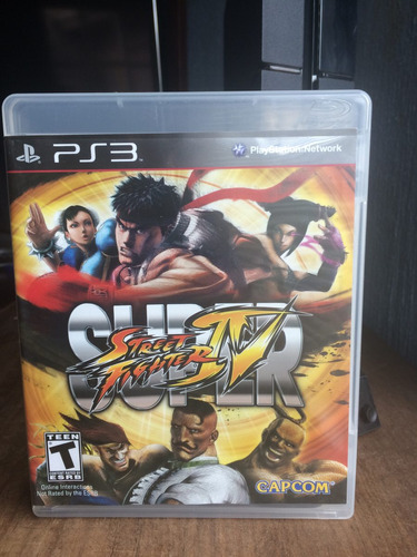 super street fighter 4 para ps3