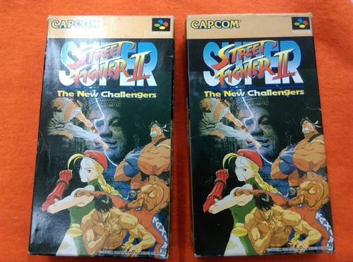 super street fighter ii  original en caja  sfc