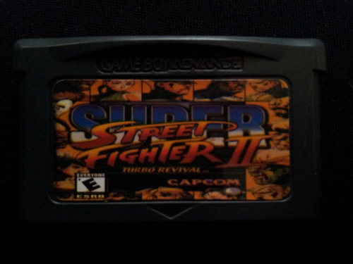 super street fighter ii - para gba