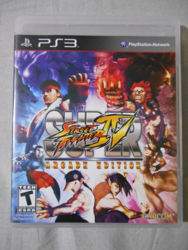 super street fighter iv ps3 vendo mandos juegos ps1 ps2 ps3