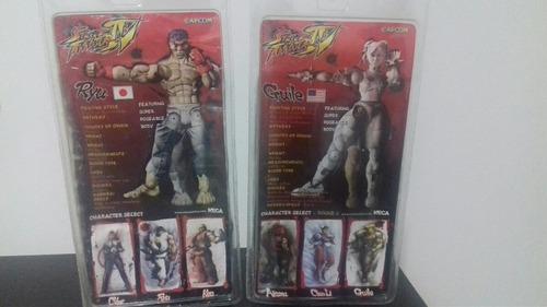 super street fighter ryu & guile neca sota mezco