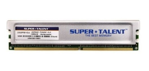 super talent ddr400 1gb64x8 cl3 16ch pc de memoria y mac g5