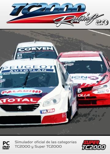 super tc2000 racing - ultima versión! - digital - original