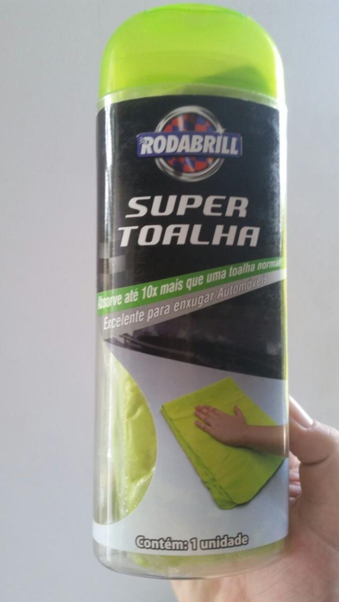 323f76518 Super Toalha Rodabrill Absorve 10x Mais (66cm X 43cm) - R$ 28,05 em ...