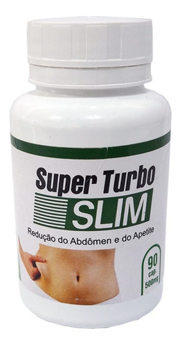 super turbo slim 90 cápsulas 500 mg (revenda)-12 frascos