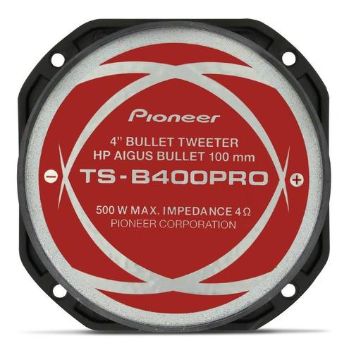 super tweeeter pioneer ts-b400pro 200w rms 4 ohms